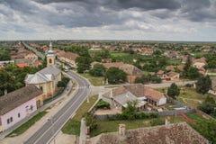 Tradycyjna wioska w Transylvania Zdjęcie Royalty Free