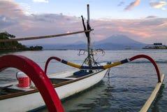 Tradycyjne balijczyk odsadni łodzie rybackie Obraz Royalty Free