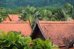 Tradycyjne budowy w Tajlandia Obrazy Royalty Free
