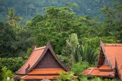 Tradycyjne budowy w Tajlandia Fotografia Royalty Free