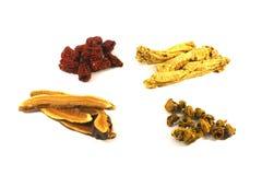 tradycyjne chińskie zioła Fotografia Stock