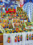 Tradycyjne drewniane lale Zdjęcia Stock