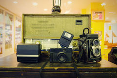 Tradycyjne kamery fotografia stock