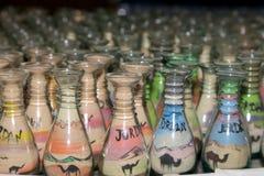 Tradycyjne lokalne pamiątki w Jordania, Środkowy Wschód Obrazy Stock