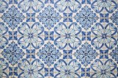 Tradycyjne ozdobne portuguese dekoracyjne płytki obraz royalty free