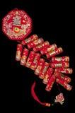 tradycyjne pomyślne chińskie petardy zdjęcie stock
