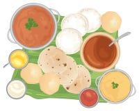 tradycyjne posiłek ilustracji