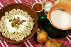 tradycyjne slovak żywności Obrazy Royalty Free