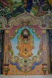 Tradycyjne Tajlandzkie styl rzeźby, obraz w kościół pod dekoracją Wata Pariwat świątynia i Zdjęcie Stock