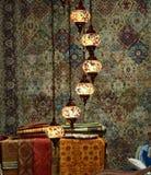 Tradycyjne tureckie lampy Obraz Stock