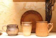 tradycyjne ukraiński ceramiczne Zdjęcia Stock
