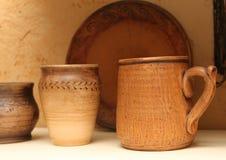 tradycyjne ukraiński ceramiczne Obrazy Stock