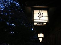 Tradycyjnego Japonia, Kashihara świątynia - fotografia stock
