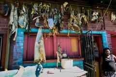 Tradycyjnej medycyny rynek w Johannesburg CBD zdjęcie stock