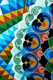 Tradycyjnej sztuki projekt - Costa Rica Obrazy Royalty Free