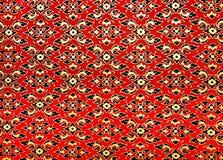 Tradycyjnej Tajlandzkiej stylowej sztuki obrazu złoty wzór na wa Obrazy Stock