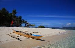 tradycyjni łódkowaci Philippines Fotografia Royalty Free