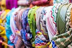 Tradycyjni Arabscy scarves zdjęcie royalty free