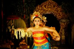 Tradycyjni Bali tancerze Zdjęcie Royalty Free
