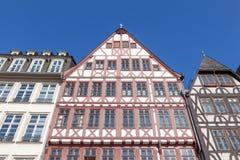 Tradycyjni budynki w Frankfurt Obraz Royalty Free