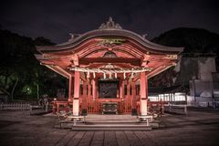 Tradycyjni Chińskie świątynia, Yokohama, Japonia zdjęcie royalty free