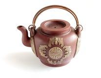 Tradycyjni Chińskie duży gliniany teapot Fotografia Royalty Free