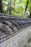 Tradycyjni chińskie małe ściany Fotografia Stock