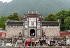 Tradycyjni Chińskie monaster fotografia stock