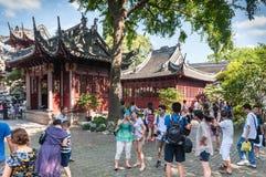 Tradycyjni Chińskie pagody dom zdjęcia royalty free