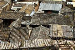 Tradycyjni Chińskie górska wioska Obrazy Royalty Free