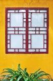 Tradycyjni Chińskie Kwadratowy okno Zdjęcia Stock
