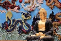 Tradycyjni chińskie ogród baomo ogród w Guangzhou, porcelana Zdjęcia Royalty Free