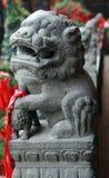 Tradycyjni chińskie opiekunu lew Zdjęcie Royalty Free