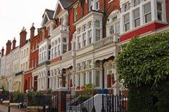 Tradycyjni domy Obraz Royalty Free