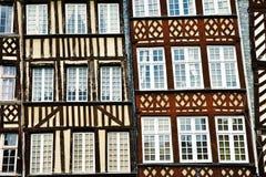 Tradycyjni domy Zdjęcia Stock