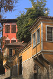 Tradycyjni domy obraz stock