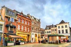 Tradycyjni domy w Arnhem, holandie zdjęcia royalty free