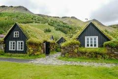 Tradycyjni domy w Iceland Obraz Royalty Free