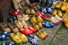 Tradycyjni Holenderscy Chodaki Obrazy Stock