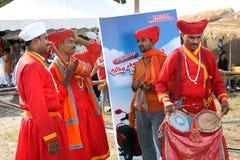 tradycyjni indyjscy muzycy Fotografia Stock
