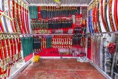 Tradycyjni knifes w sklepie Fotografia Royalty Free