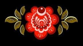 Tradycyjni kwiaty i roślina ornament Zdjęcie Royalty Free