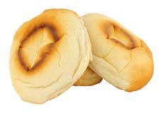 Tradycyjni Lancashire piekarnika dna Muffins Obrazy Stock