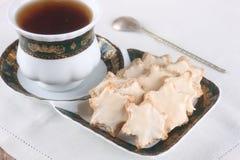 Tradycyjni Niemieccy Bożenarodzeniowi cynamonowi ciastka Obrazy Royalty Free