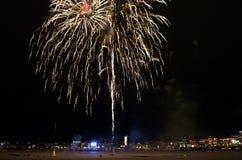 Tradycyjni nowy rok świętowania w LuleÃ¥ Fotografia Stock