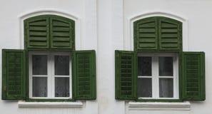 tradycyjni okno Zdjęcia Royalty Free