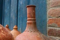 Tradycyjni produkty od czerwonej gliny obrazy stock