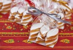 Tradycyjni Provence cukierki - Calissons d'Aix Zdjęcia Stock