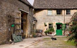 Tradycyjni rolni budynki, Anglia Fotografia Royalty Free