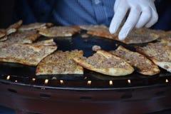 Tradycyjni Tureccy ciasta z mięsem Fotografia Stock